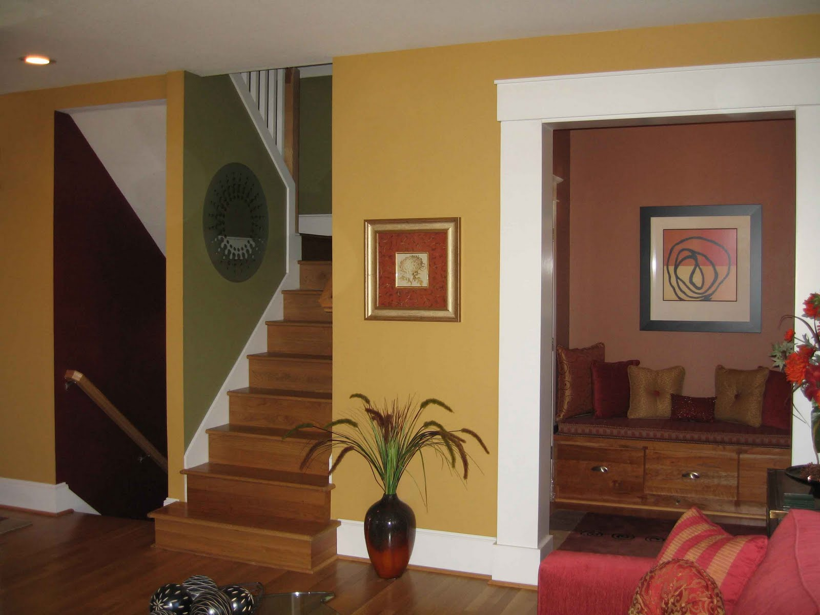 Interior house painting styles